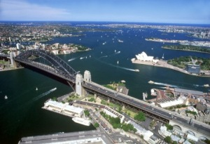 オーストラリアのシドニー湾
